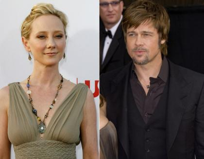 Celebrity spirit channelers: Anne Heche and' Brad Pitt'
