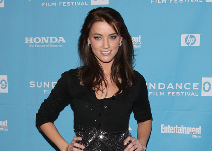 Amber Heard Premieres 'The Informers'