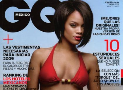 Rihanna in GQ Mexico