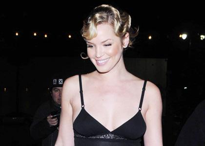 Ashley Scott: Sheer Sexy at Bardot