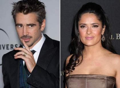 Are Salma Hayek and Colin Farrell together?