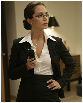 Eliza Dushku In Dollhouse Episode One: Hot Business Woman
