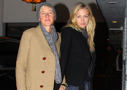 Ellen DeGeneres and Portia de Rossi: Birthday Dinner