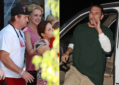 Britney Spears and Kevin Federline: BBQ Buddies