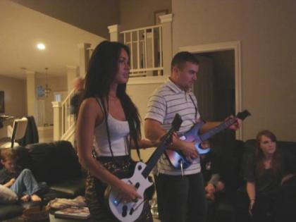 Megan Fox is a Guitar Hero