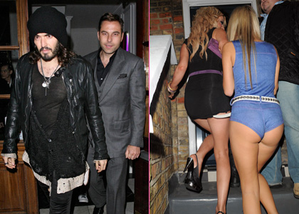 Russell Brand and David Walliams: Ladies' Men