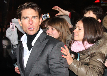 Tom Cruise Premieres 'Valkyrie' in Russia