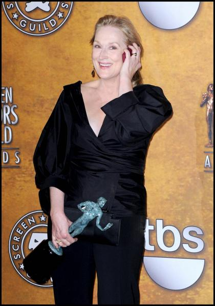 Meryl Streep might guest on '30 Rock?, wins another award