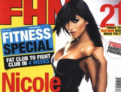 Nicole Scherzinger in FHM Magazine