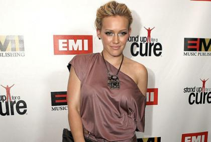 Hilary Duff Stands Up For a Cure