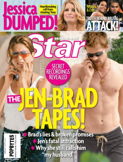 Star mag honors Jennifer Aniston's b-day by calling her creepy, lonely