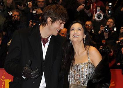 Demi Moore and Ashton Kutcher: 'Happy Tears' in Berlin