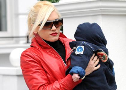 Gwen Stefani and Zuma Brighten Up London