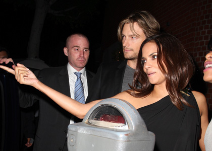Halle Berry and Gabriel Aubry: Mr Chow Date Night