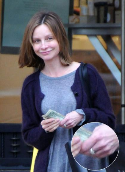People Magazine confirms Calista Flockhart Harrison Ford engagement