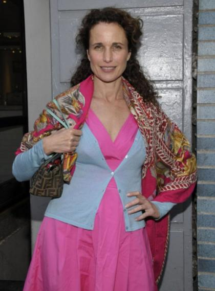 What happened to Andie Macdowell?