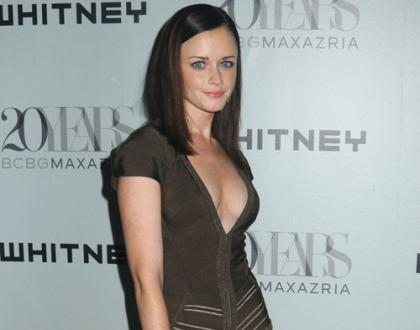 Alexis Bledel Cleavage is Nice
