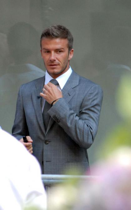 David Beckham Drops By the Today Show