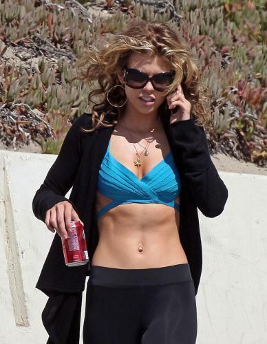 Annalynne McCord's Hard Body Needs A Bikini