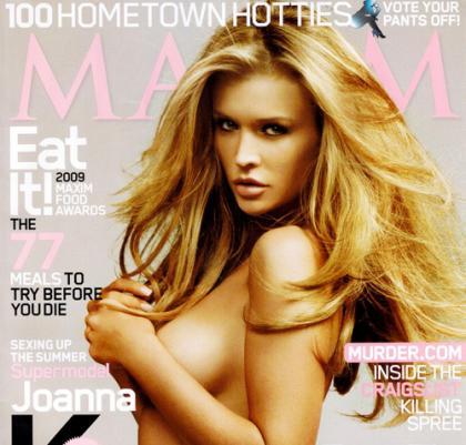 Joanna Krupa Heats Up Maxim Magazine