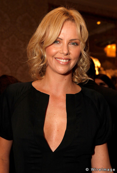 Charlize Theron Helping To Build Fields for South African Kids