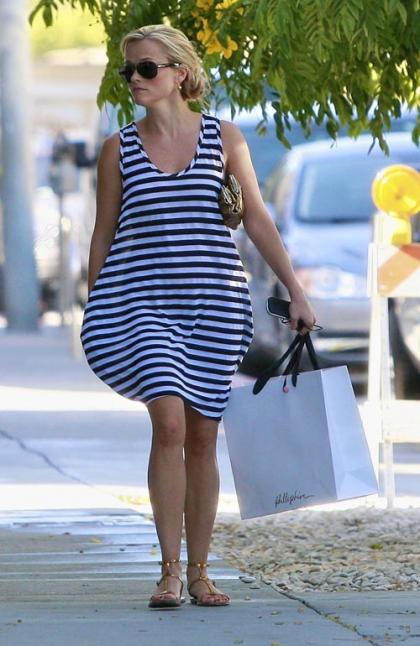 Reese Witherspoon's Melrose Retail Romp