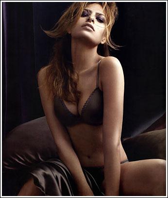 Eva Mendes Sizzles In Calvin Klein Underwear