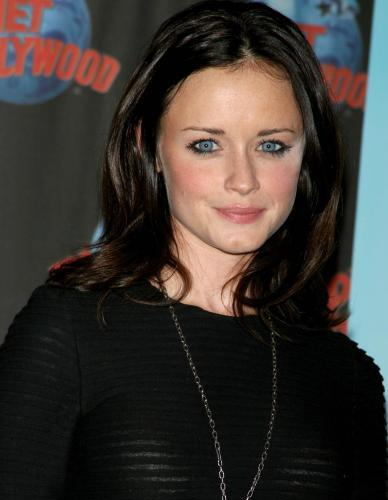 Alexis Bledel Is Kinda See Through