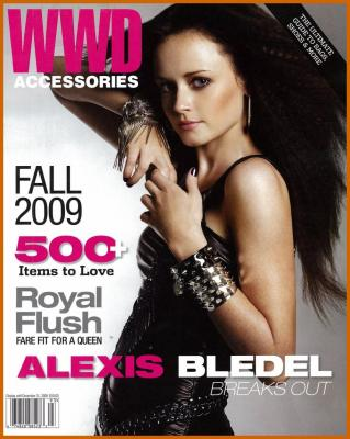 Alexis Bledel in WWD Magazine Pictures