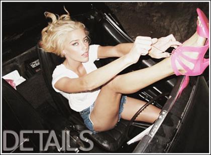 Amber Heard Unleashes Her Killer Legs For Details