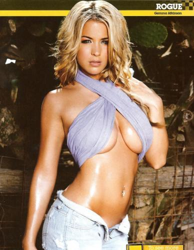 Gemma Atkinson's Underboob Is Loaded