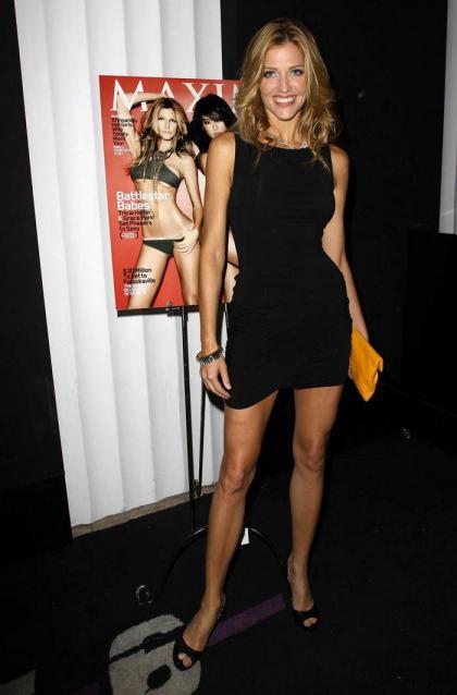Tricia Helfer Promotes Her Maxim