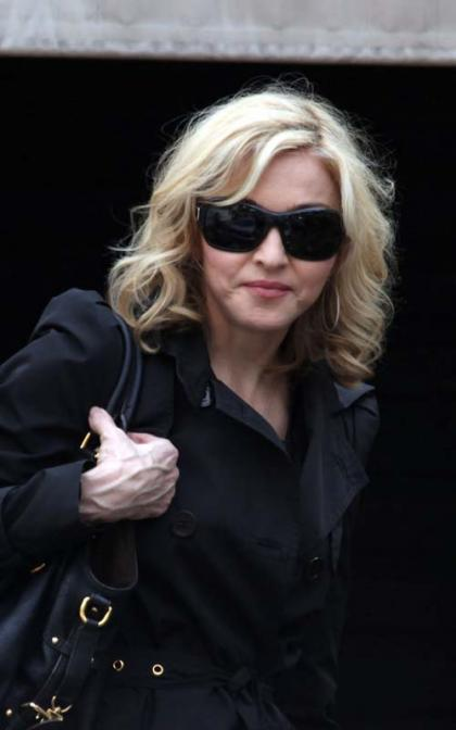 Madonna Swings Into Sao Paulo