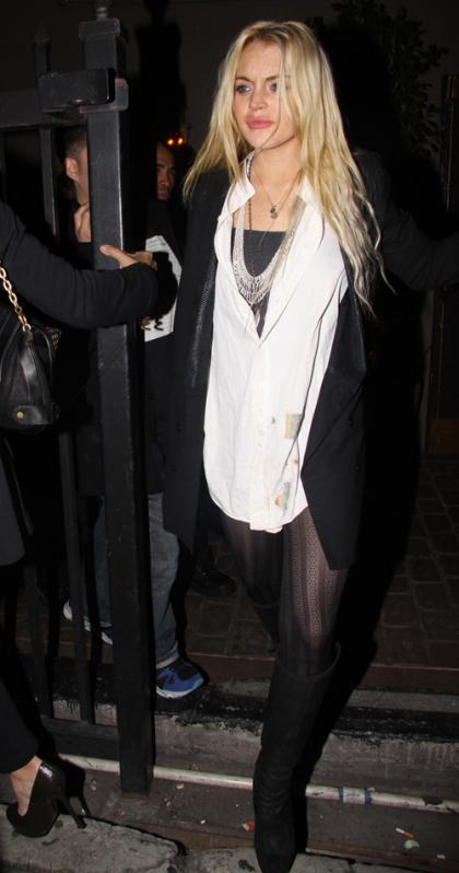 Lindsay Lohan's Diet Cola Dousing