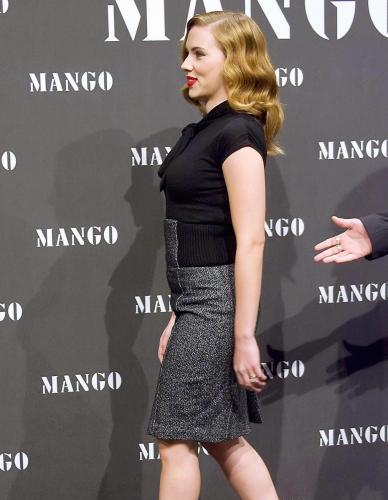 A Scarlett Johansson Profile Shot