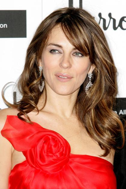 Liz Hurley's diet: no coffee, one meal a day  vodka