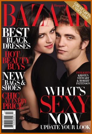 Kristen Stewart and Robert Pattinson Steam Up Harper's Bazaar Magazine