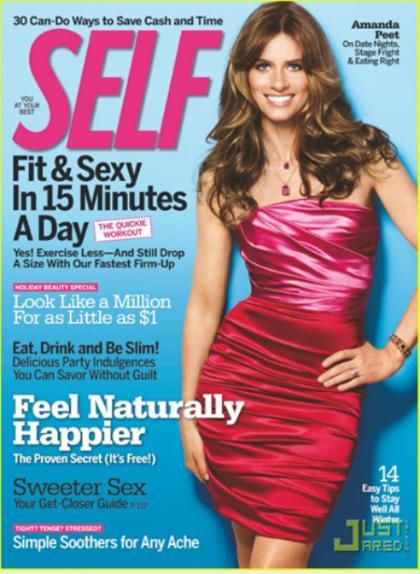 Amanda Peet: I want Gisele Bundchen or Jennifer Aniston's body