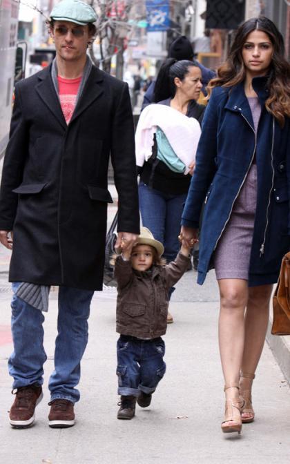 Matthew, Camila and Levi: Corn Cob Family