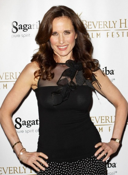Andie MacDowell reveals her weight