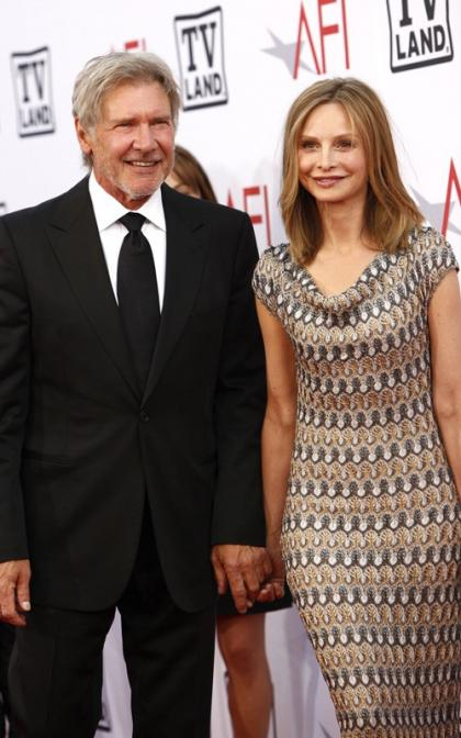 Harrison Ford and Calista Flockhart: Married At Last!