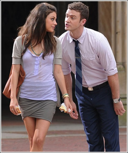 Justin Timberlake Is Getting In The Way Of Mila Kunis' Hotness