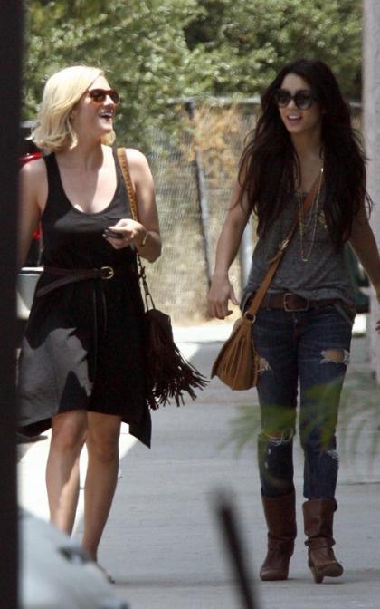 Vanessa Hudgens and Brittany Snow: Hollywood Hotties