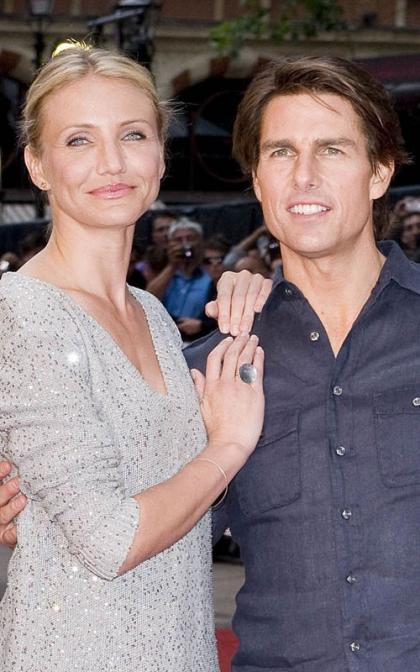 Cameron Diaz and Tom Cruise: Kinght and Day in the UK