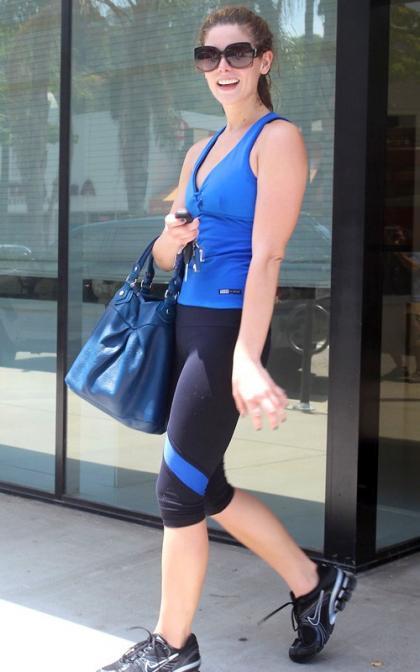Ashley Greene: Back on the West Coast, Back to the Gym