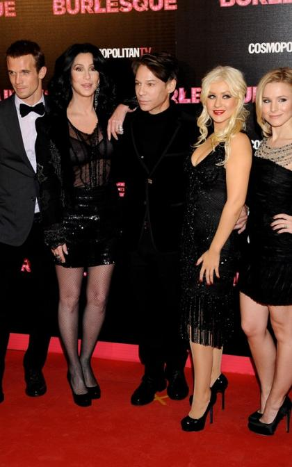 Christina Aguilera Dazzles at Madrid Premiere of