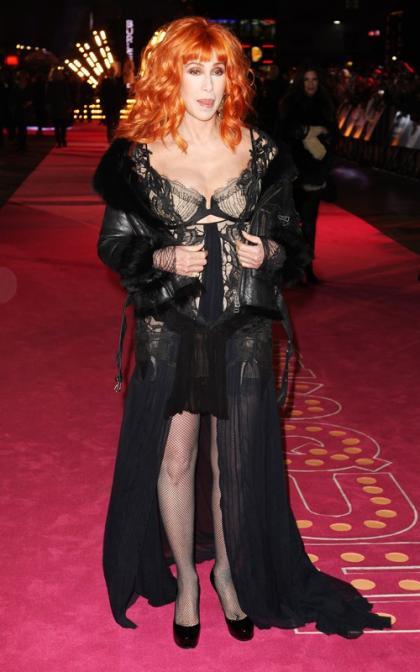 Cher Premieres 'Burlesque' in the UK