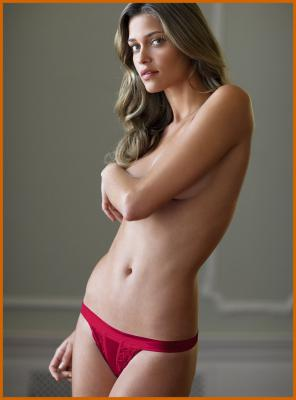 Ana Beatriz Barros Topless Photoshoot