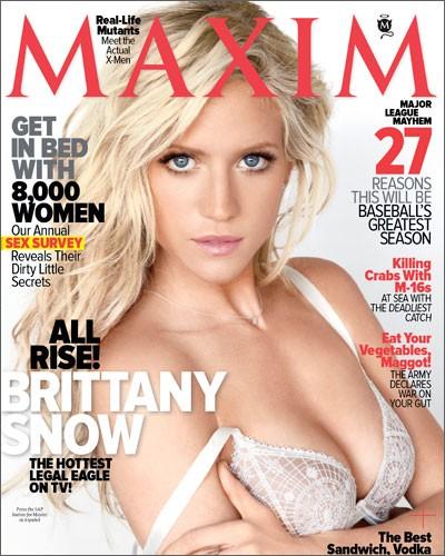 Brittany Snow: Maxim Hotness
