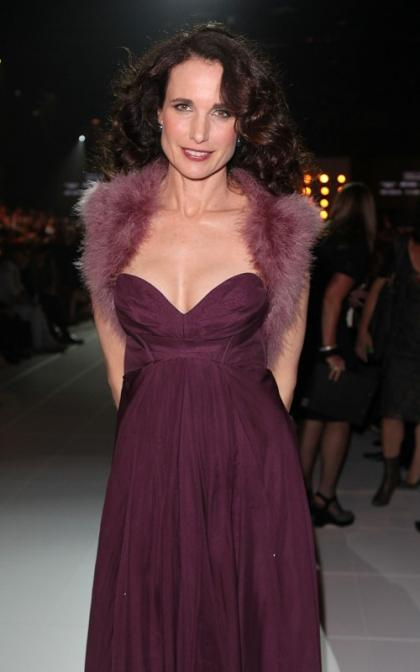 Andie MacDowell's Fashionable Aussie Visit